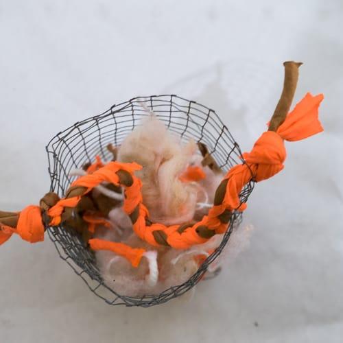 Schapenvacht borstelen DIY Sheepy.cc