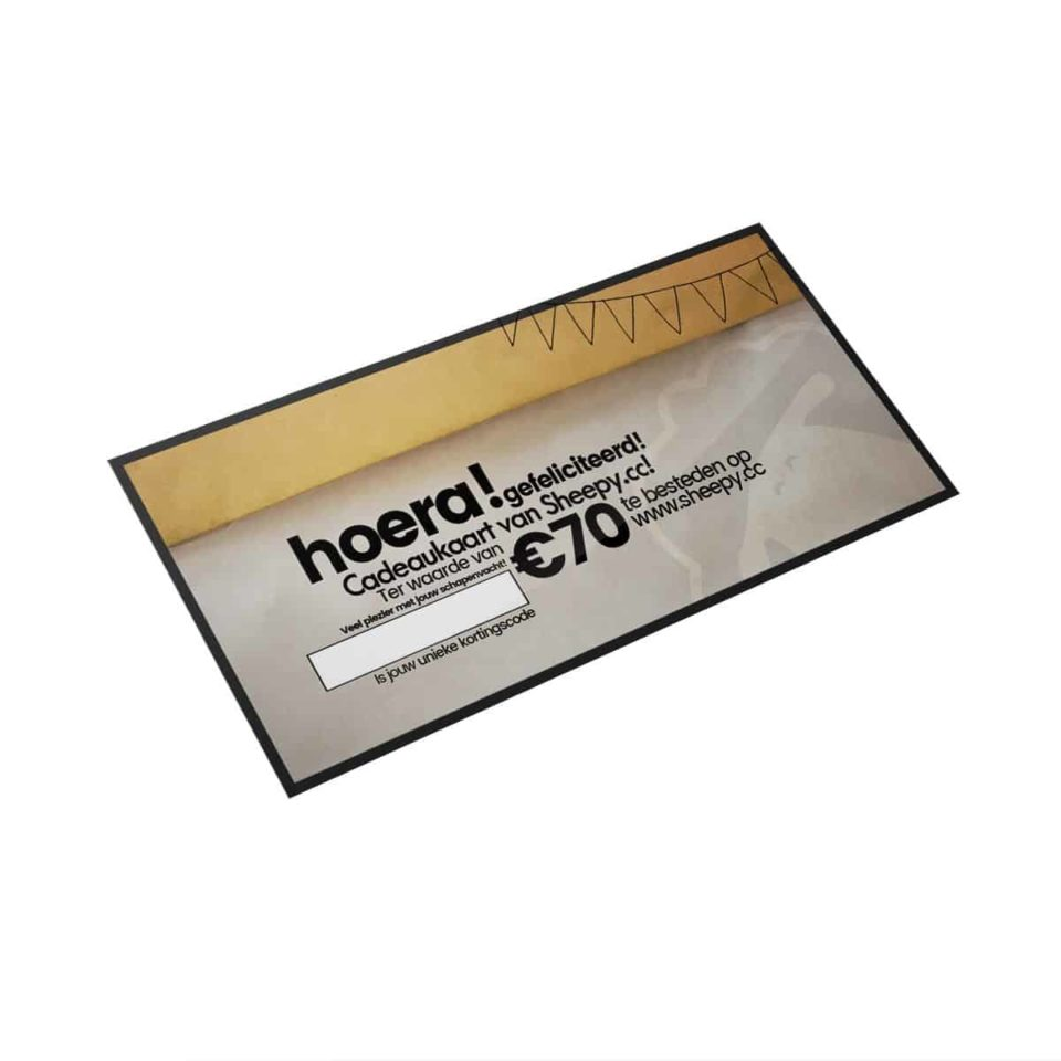 Schapenvacht giftcard