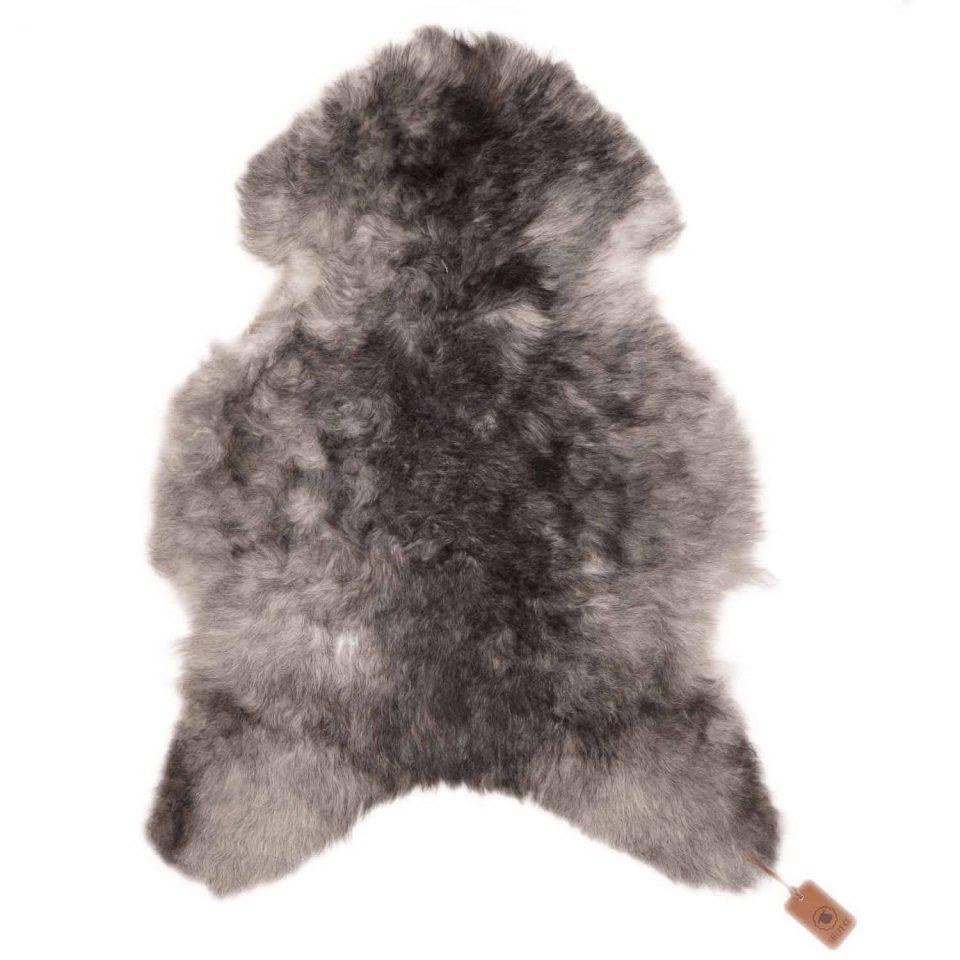 schapenvacht L52 grijs kort