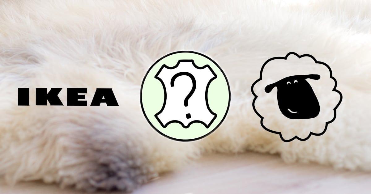 Schapenvacht Ikea of een Sheepy schapenvacht