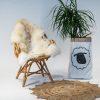 A14 Schapenvacht gemeleerd stoel Sheepycc