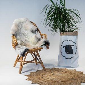 A15 Schapenvacht gemeleerd stoel Sheepycc