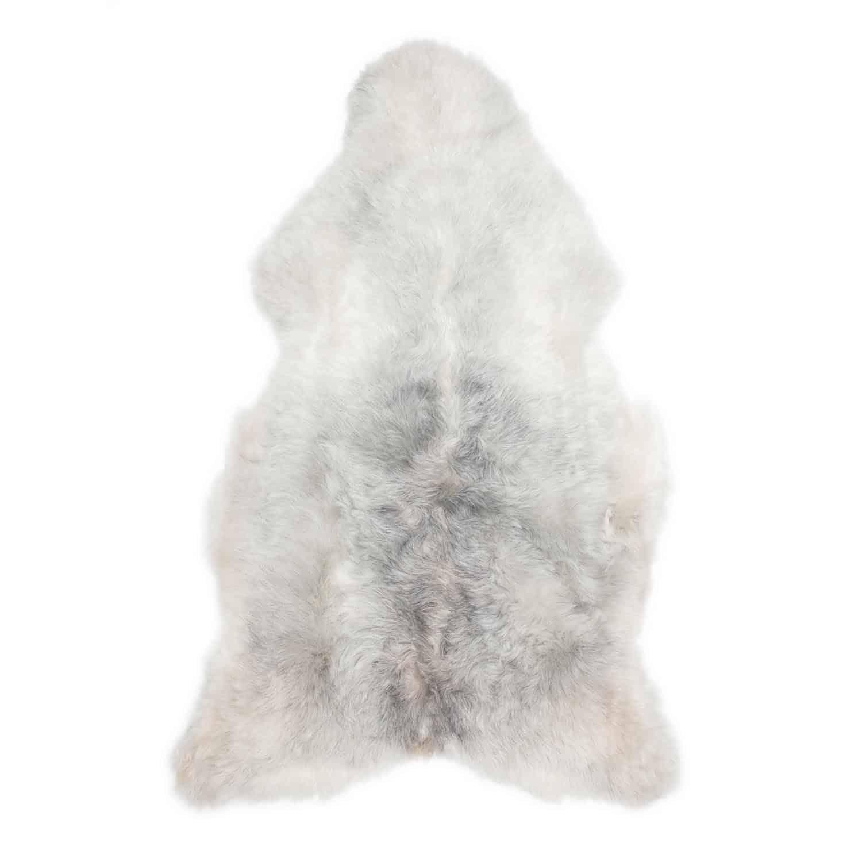 Schapenvacht grijs IJslands R68