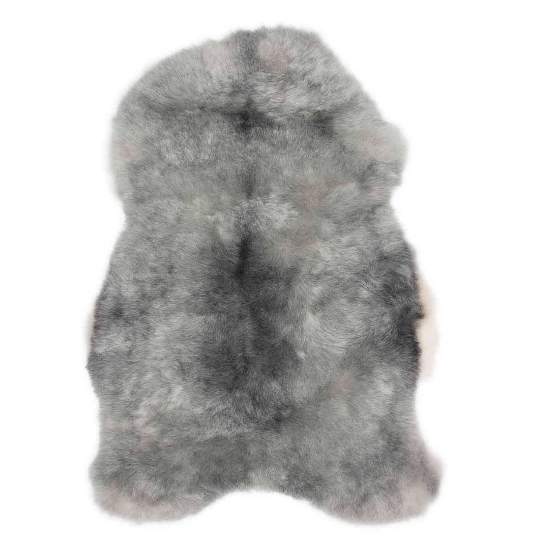 Schapenvacht grijs IJslands R69