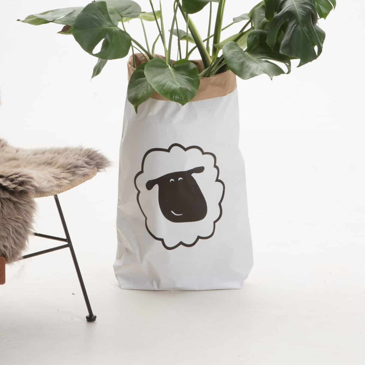 Sheepy Paperbag XXL