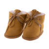 Babyslofjes wol beige Joep 1 Sheepycc
