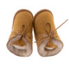 Babyslofjes wol beige Joep 3 Sheepycc