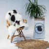 A06 Schapenvacht gemeleerd stoel Sheepycc