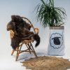 A17 Schapenvacht gemeleerd stoel Sheepycc