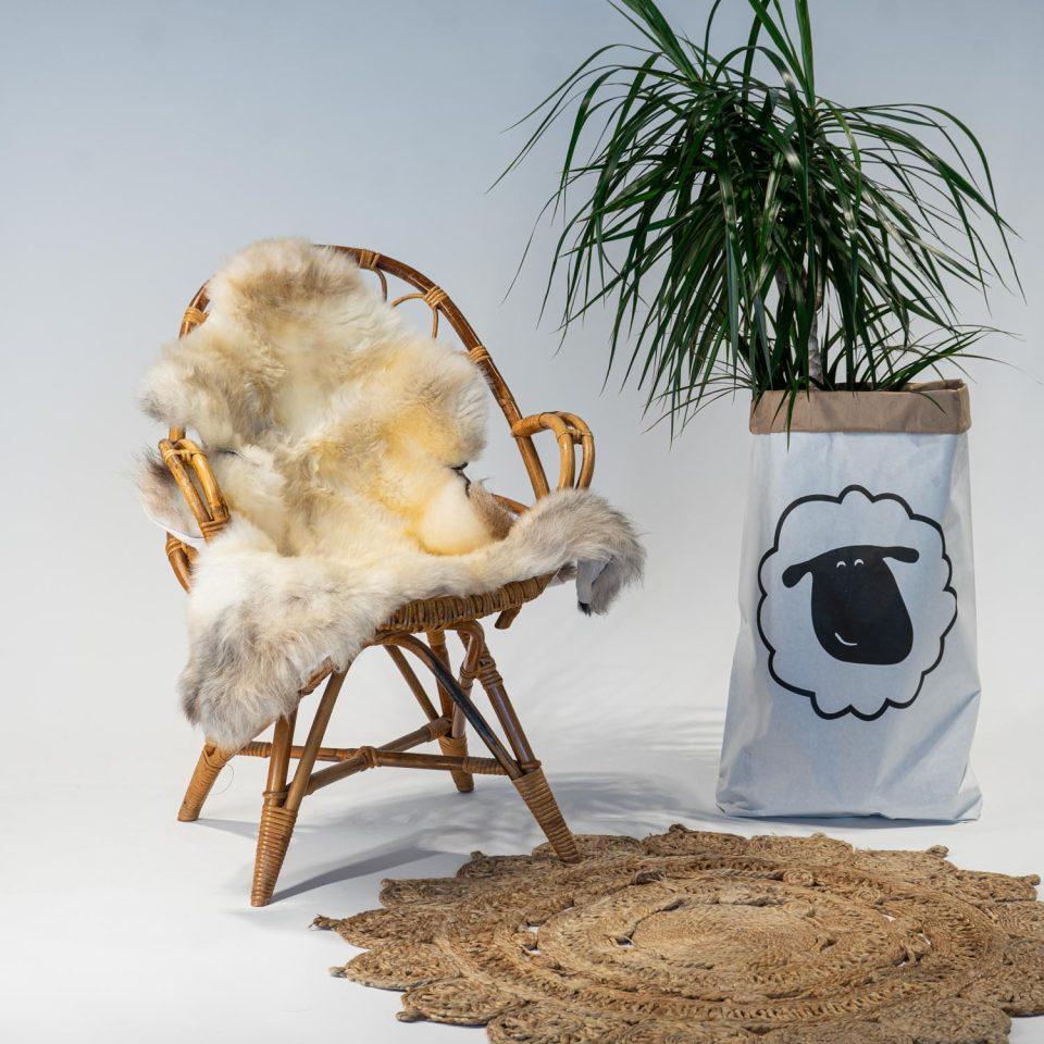 A20 Schapenvacht gemeleerd stoel Sheepycc