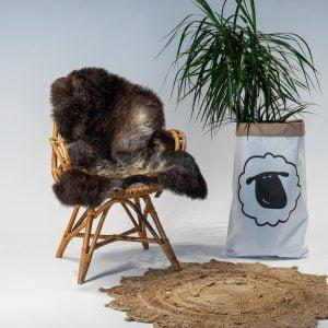 A21 Schapenvacht gemeleerd stoel Sheepycc