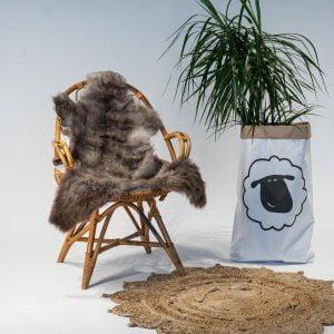 A23 Schapenvacht gemeleerd stoel Sheepycc