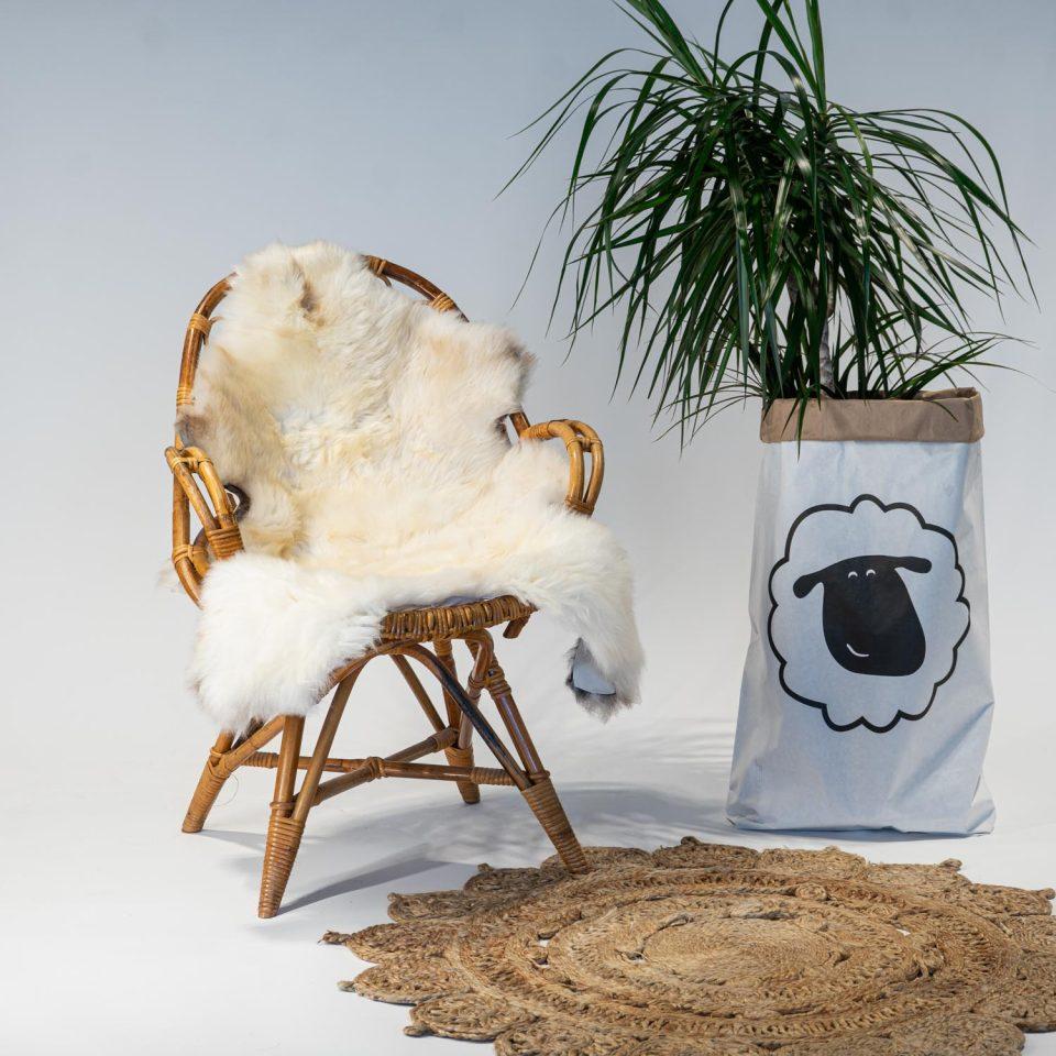 A24 Schapenvacht gemeleerd stoel Sheepycc