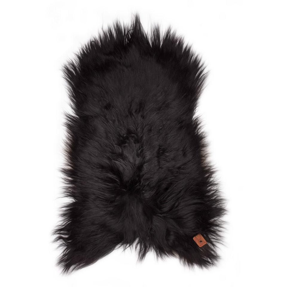 Schapenvacht Zwart Sheepy B46